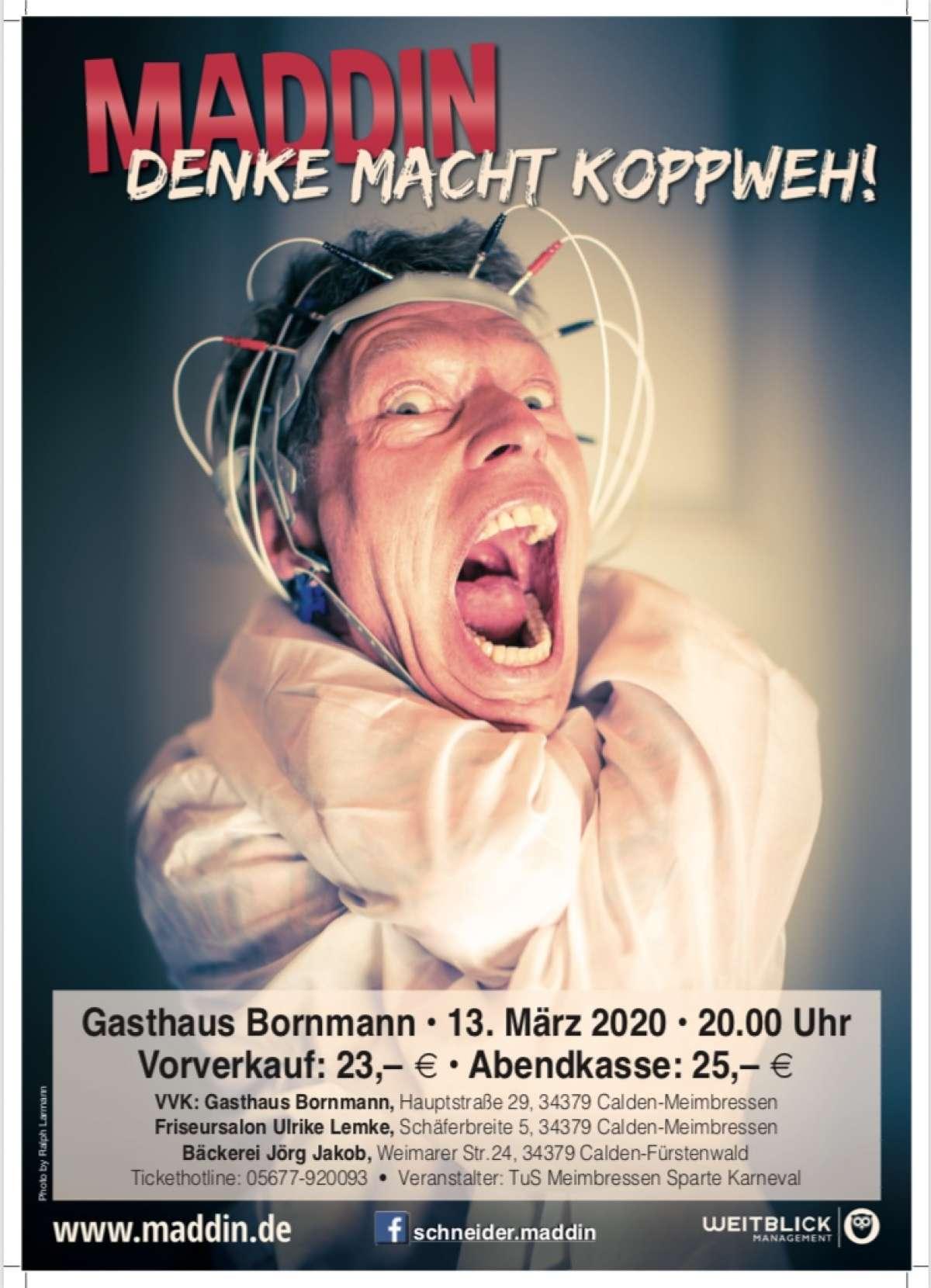 Veranstaltungen & Events am »Freitag, 13. M�rz 2020« in deiner Nähe...