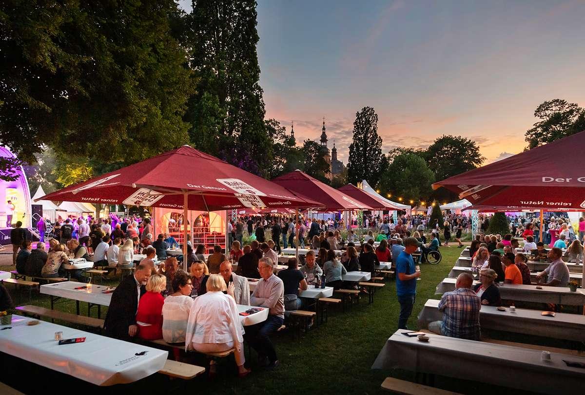 Fuldaer Genussfestival - Pauluspromenade - Fulda