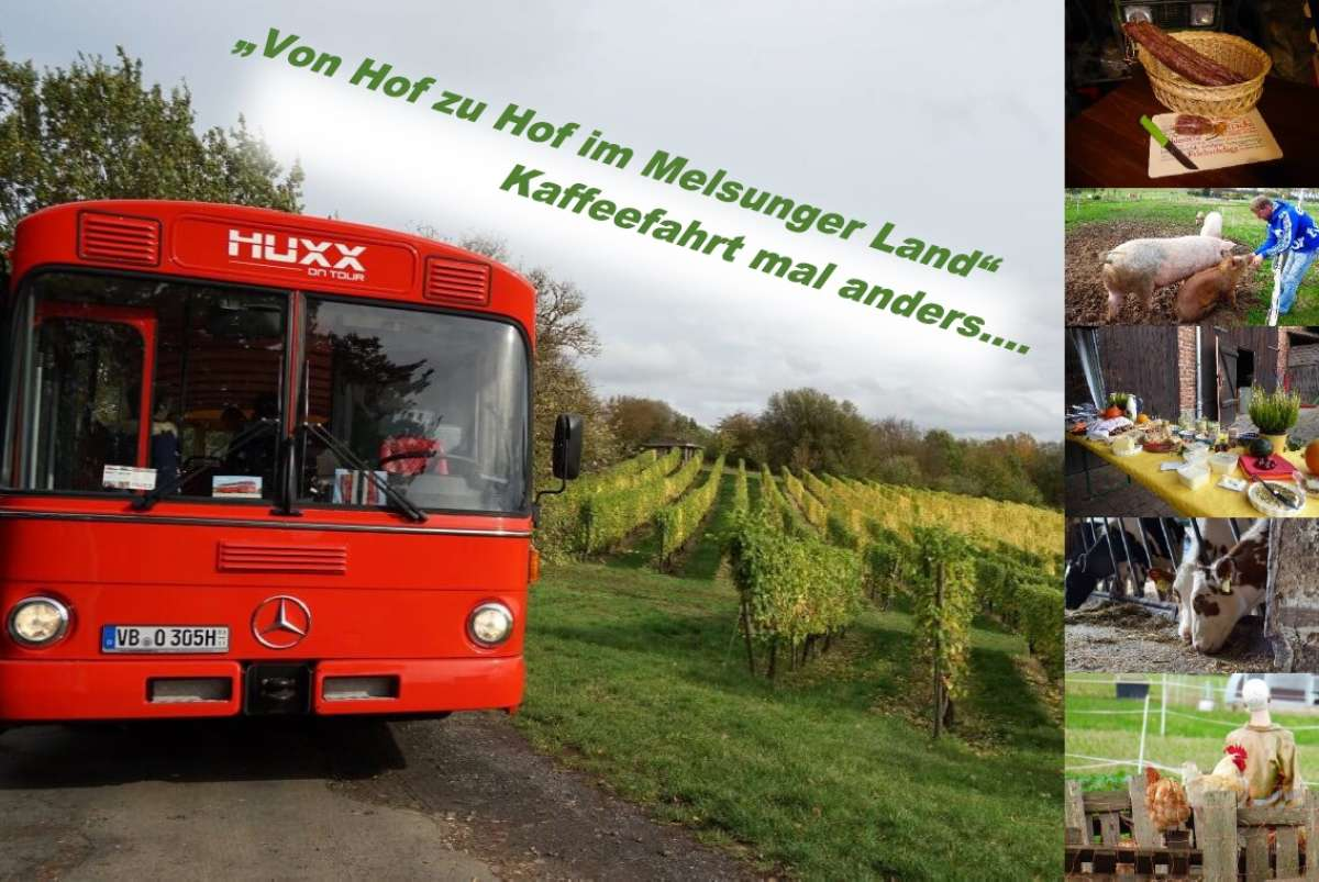 Von Hof zu Hof im Melsunger Land - Kaffeefahrt mal anders - Bartenwetzerbrücke - Melsungen