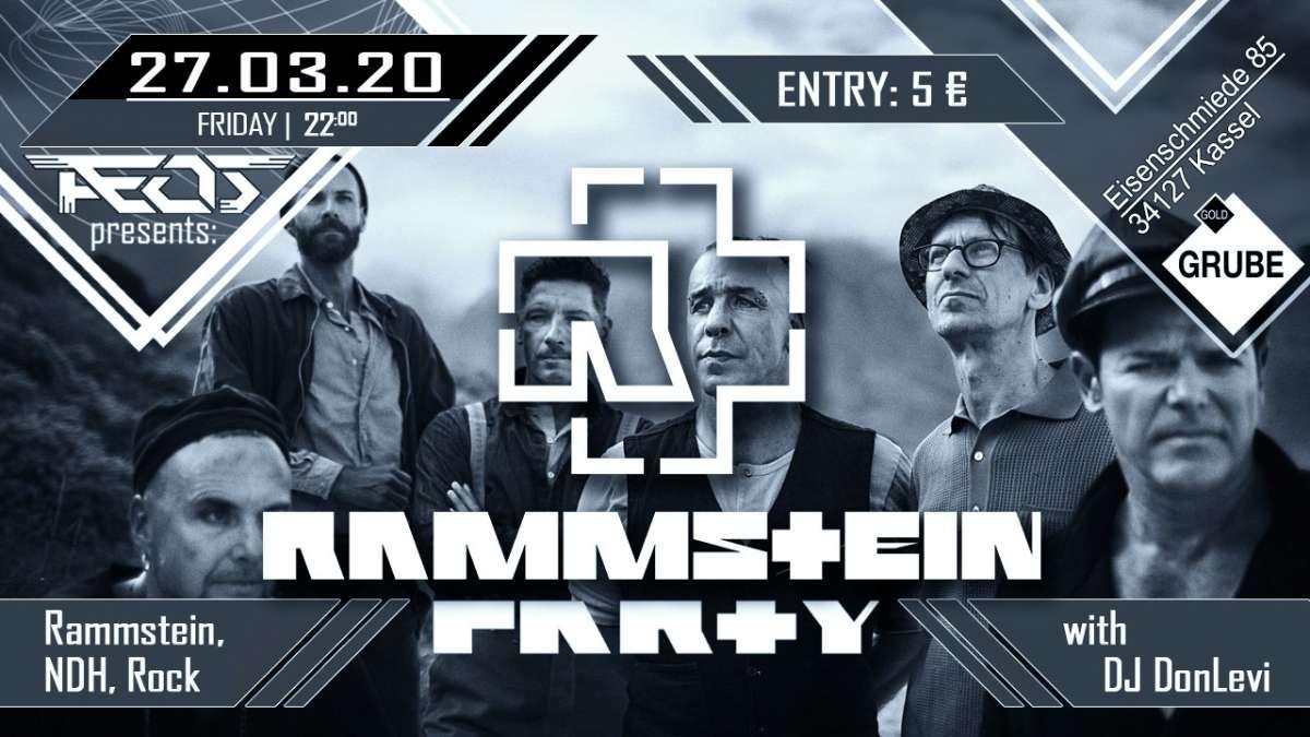 Rammstein Party - DJ DonLevi - Goldgrube  - Kassel
