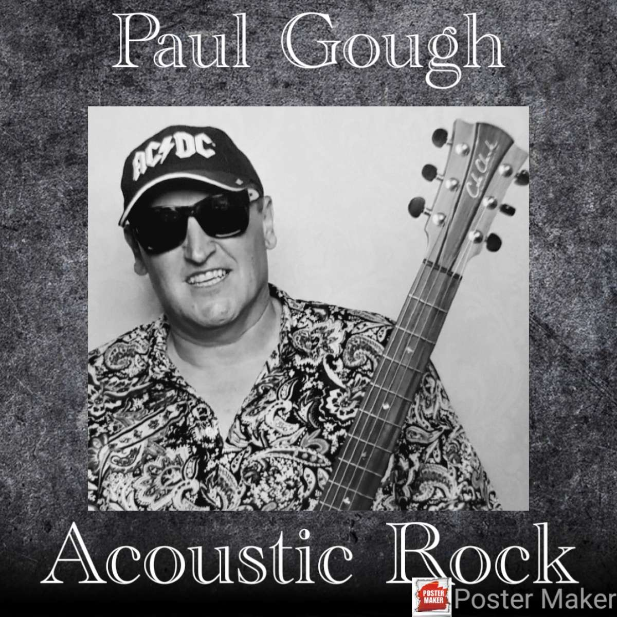 Acoustic Rock Livestream - Paul Gough  - Internet - Weltweit Online