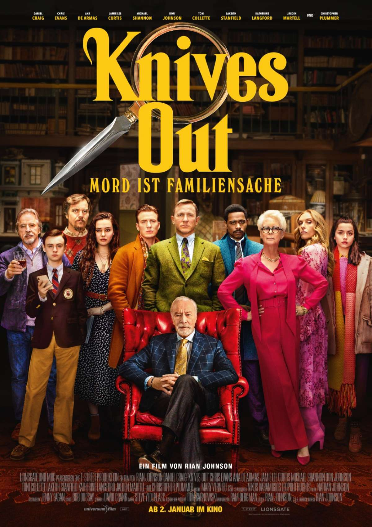Knives Out - Mord ist Familiensache - Autokino Bilster Berg  - Bad Driburg