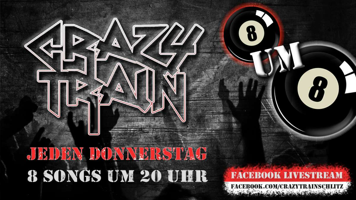 Crazy Train Livestream - 8 um 8 - Crazy Train - Welt - Weltweit Online