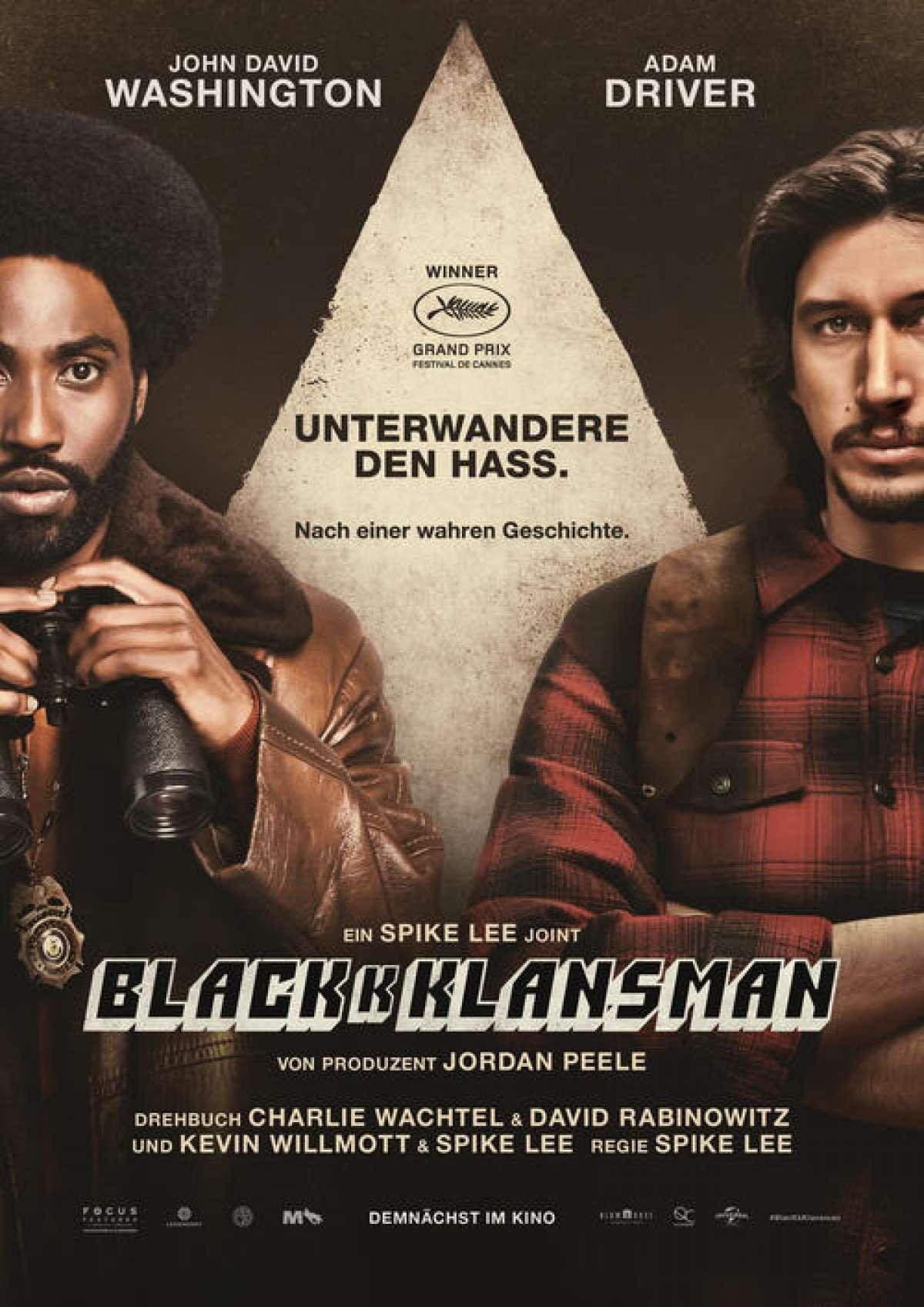 BlacKkKlansman - Autokino Paderborn am Flughafen Paderborn - Büren, Westfalen