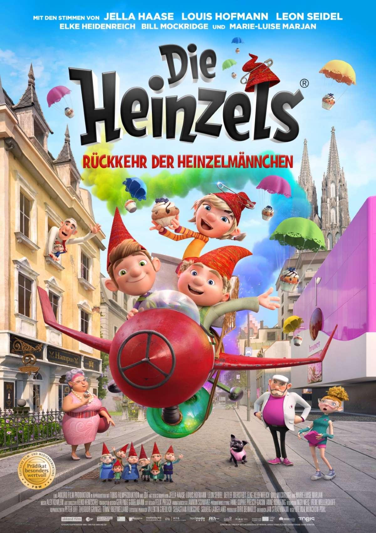 Die Heinzels - Rückkehr der Heinzelmännchen - Cineplex  - Kassel