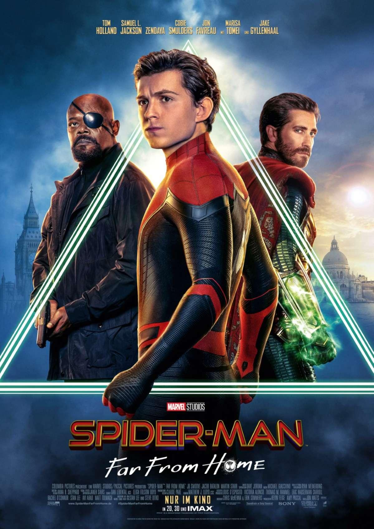 Spider-Man: Far frome home - Autokino Paderborn am Flughafen Paderborn - Büren, Westfalen