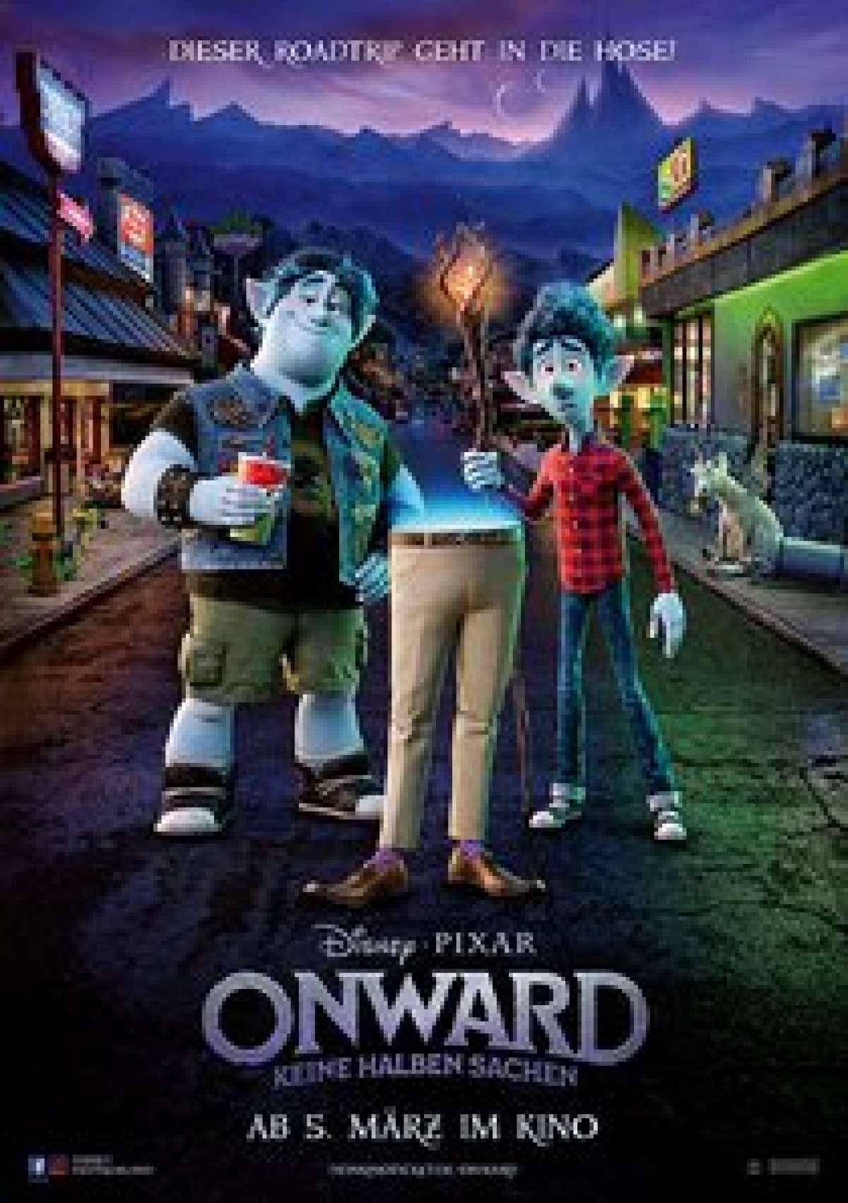 Onward: Keine halben Sachen - Cine-Royal  - Fritzlar