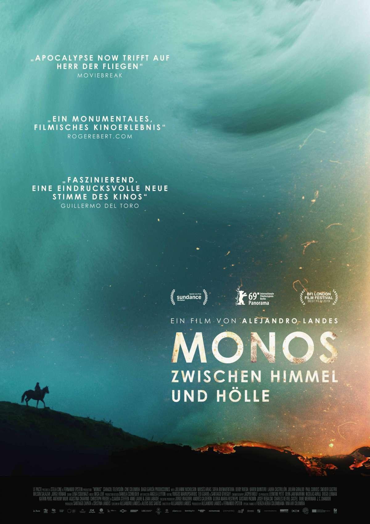 Monos - Zwischen Himmel und Hölle - Filmladen - Kassel