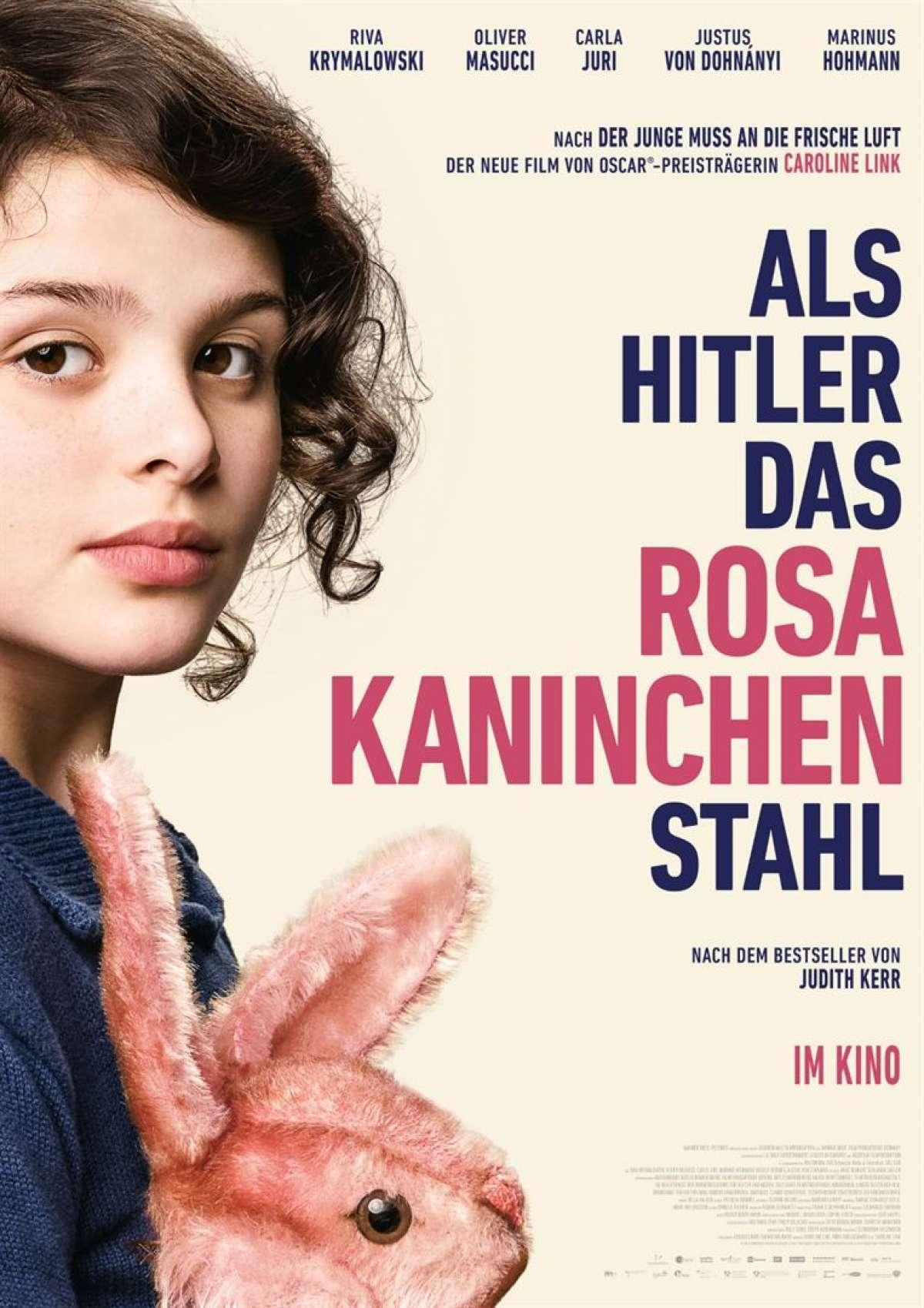 Als Hitler das rosa Kaninchen stahl - Cineplex  - Warburg