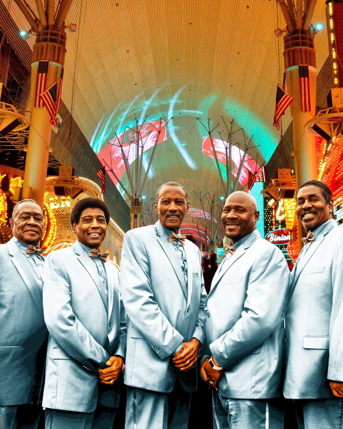 60 Years Motown Gold Tour - The Temptations REV-Vegas - Stadthalle  - Baunatal