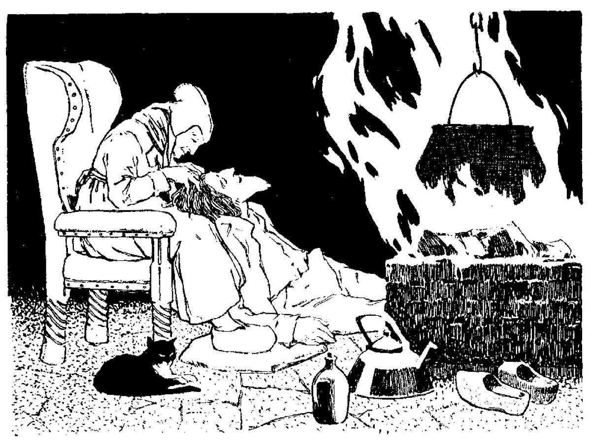 Grimms Märchenstunde digital: Der Teufel mit den drei goldenen Haaren