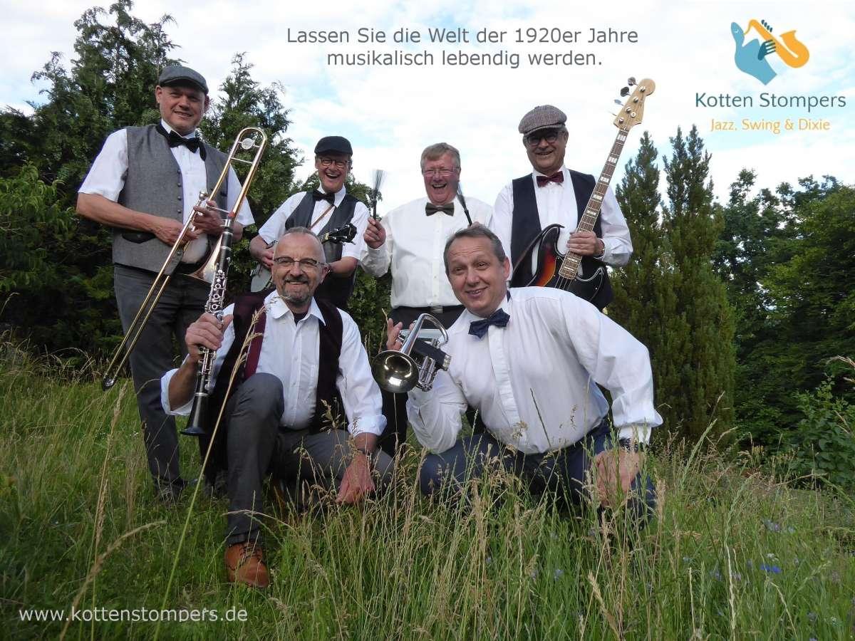 Jazzkonzert - Kotten Stompers - Walkemühle - Frankenberg