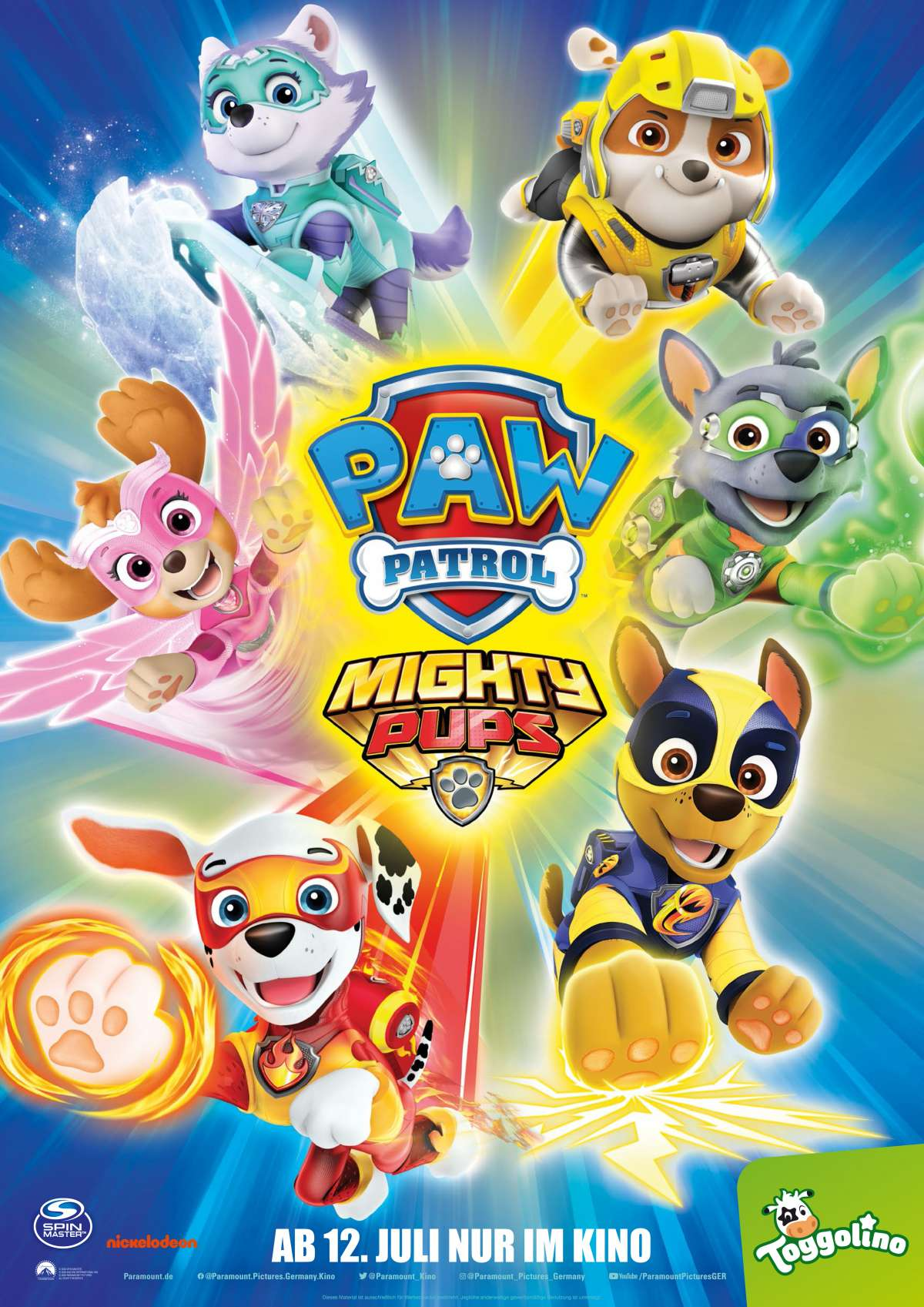 Paw Patrol: Mighty Pups - Cine-Royal  - Fritzlar