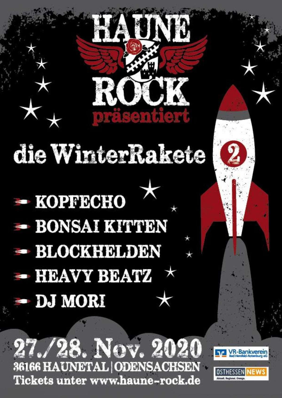 Die WinterRakete Vol.II - Heavy Beatz, DJ Mori - Festplatz Odensachsen - Haunetal-Odensachsen
