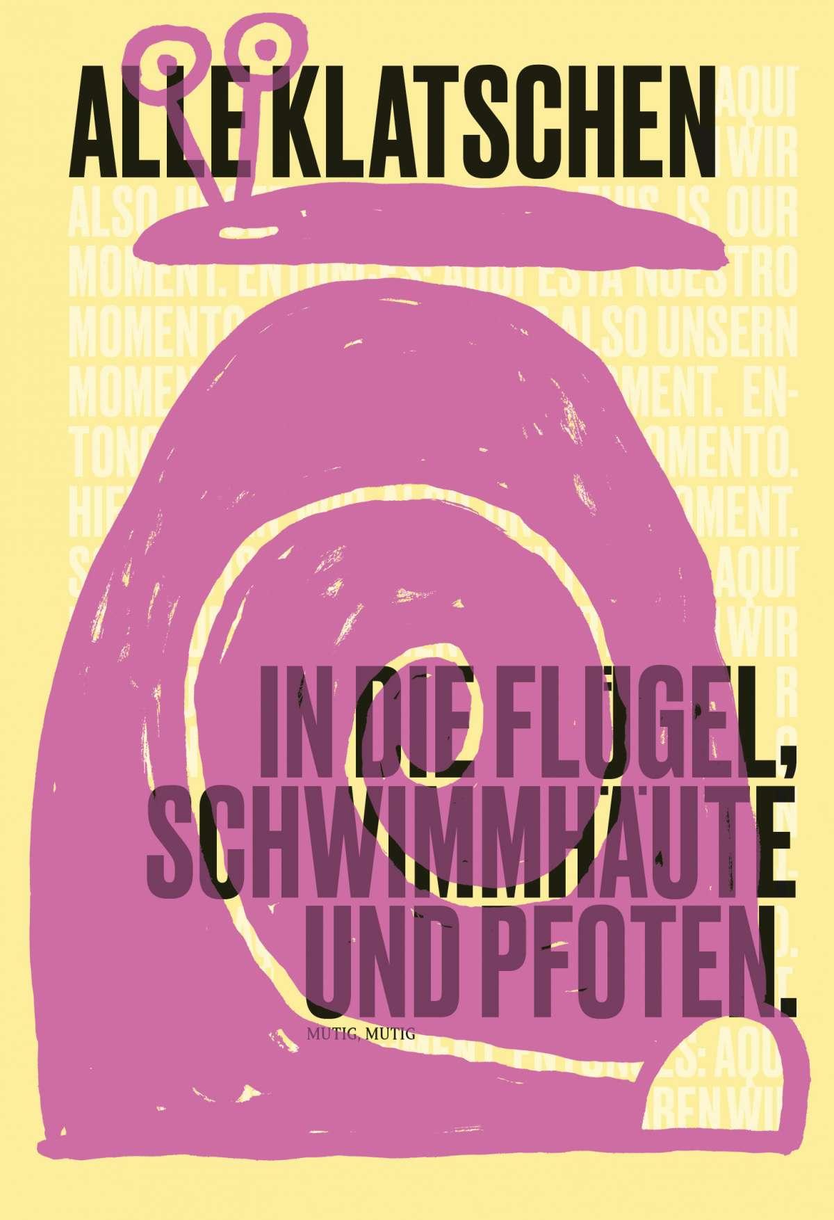 Mutig, Mutig - Hessisches Landestheater Marburg - Mini Tasch - Marburg