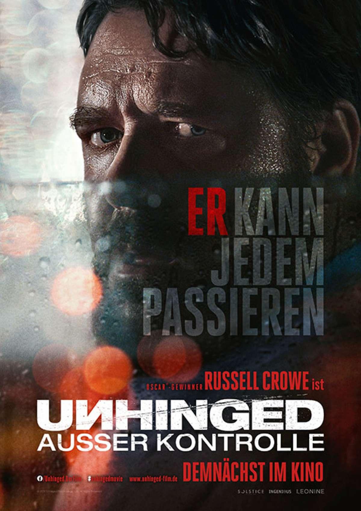 Unhinged - Ausser Kontrolle - CineK-Kino  - Korbach