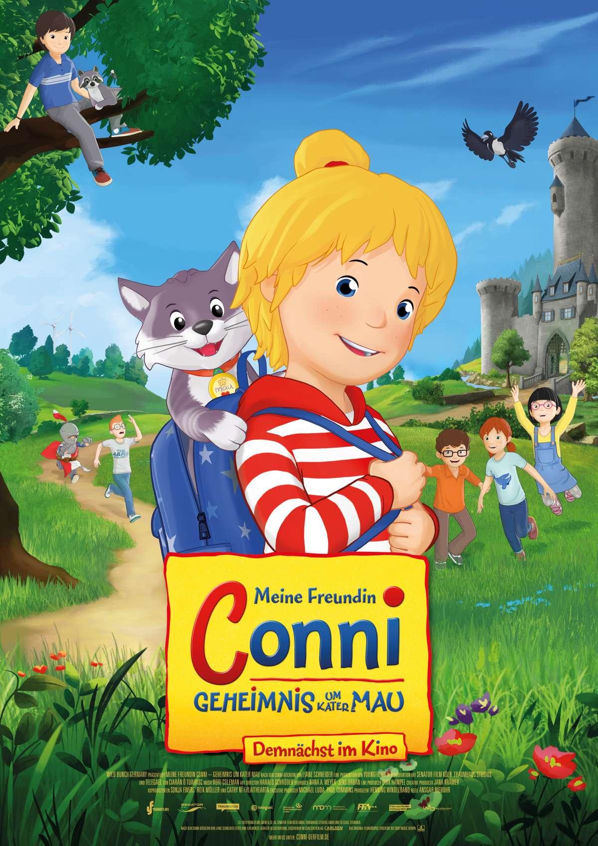 Meine Freundin Conni - Geheimnis um Kater Mau - Central Kino  - Borgentreich