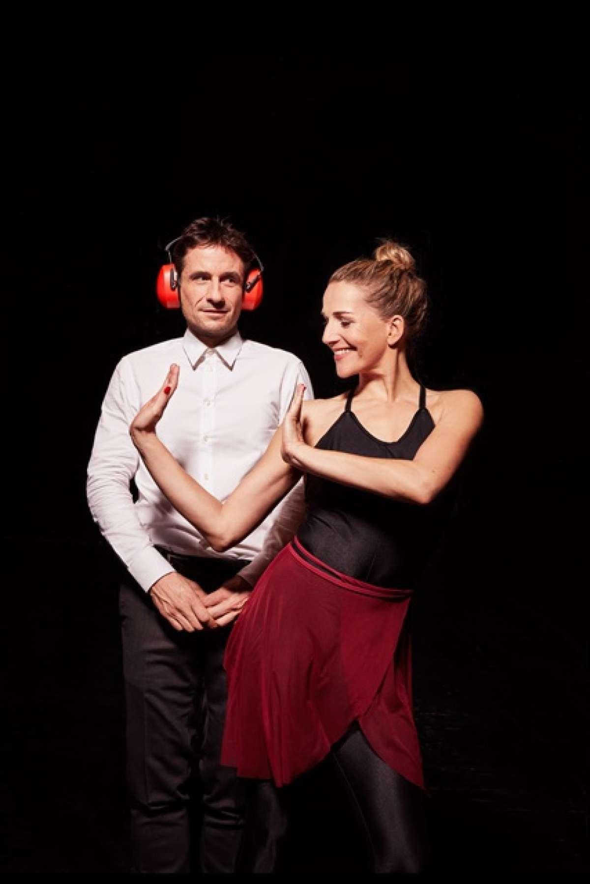 Die Tanzstunde - Komödie von Mark St. Germain, Deutsch von John Birke. Mit Tanja Wedhorn und Oliver Mommsen - Stadthalle  - Beverungen