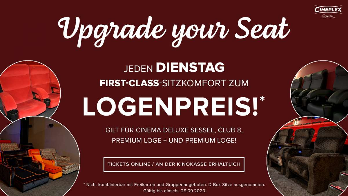 Event: Upgrade your Seat