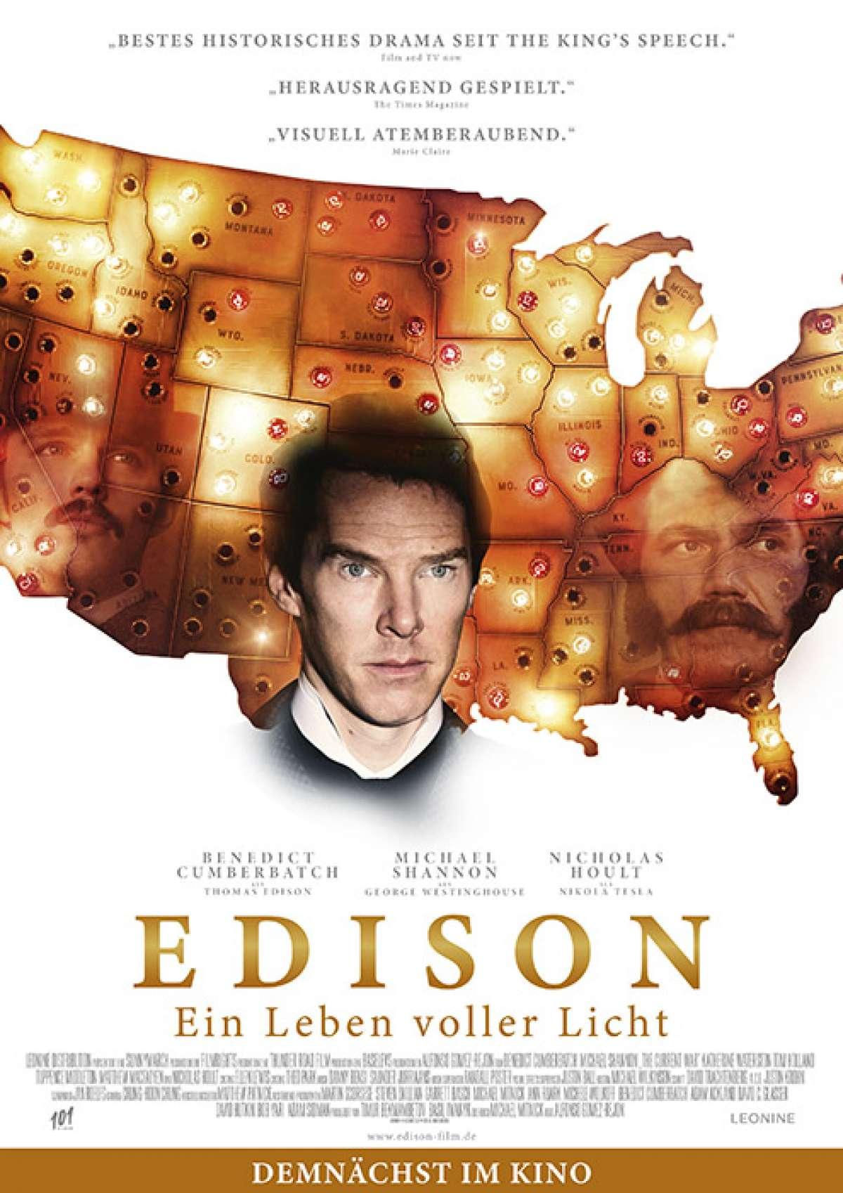 Edison - Ein Leben voller Licht - Cineplex  - Baunatal