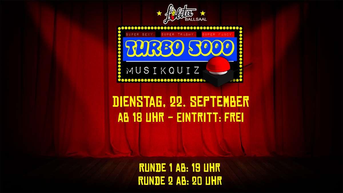 Turbo 5000 Musikquiz - Im Biergarten - DJ '59 Sound + Onkel Bob - Lolita Bar-Biergarten - Kassel