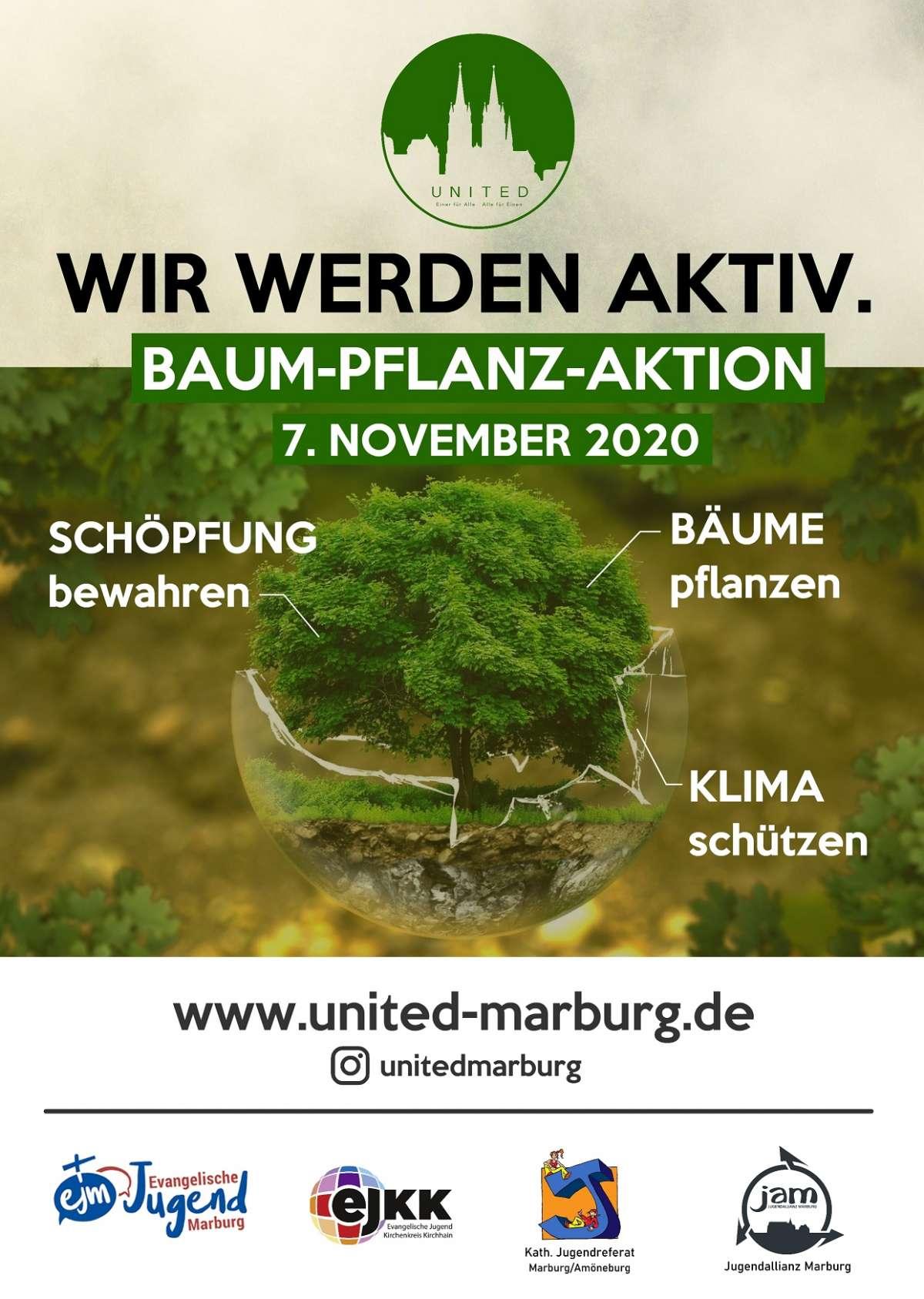Baum-Pflanz-Aktion 2020 - Wir werden aktiv.