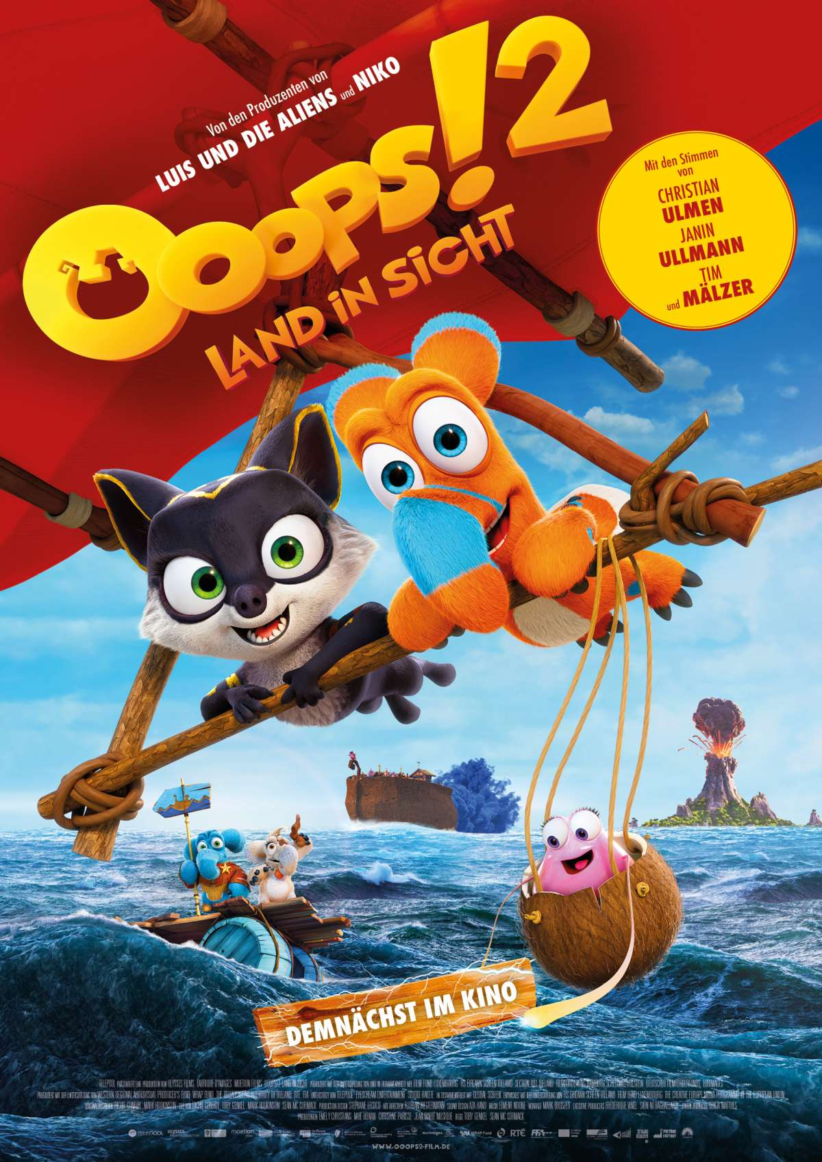 Ooops! 2 - Land in Sicht - Central Kino  - Borgentreich
