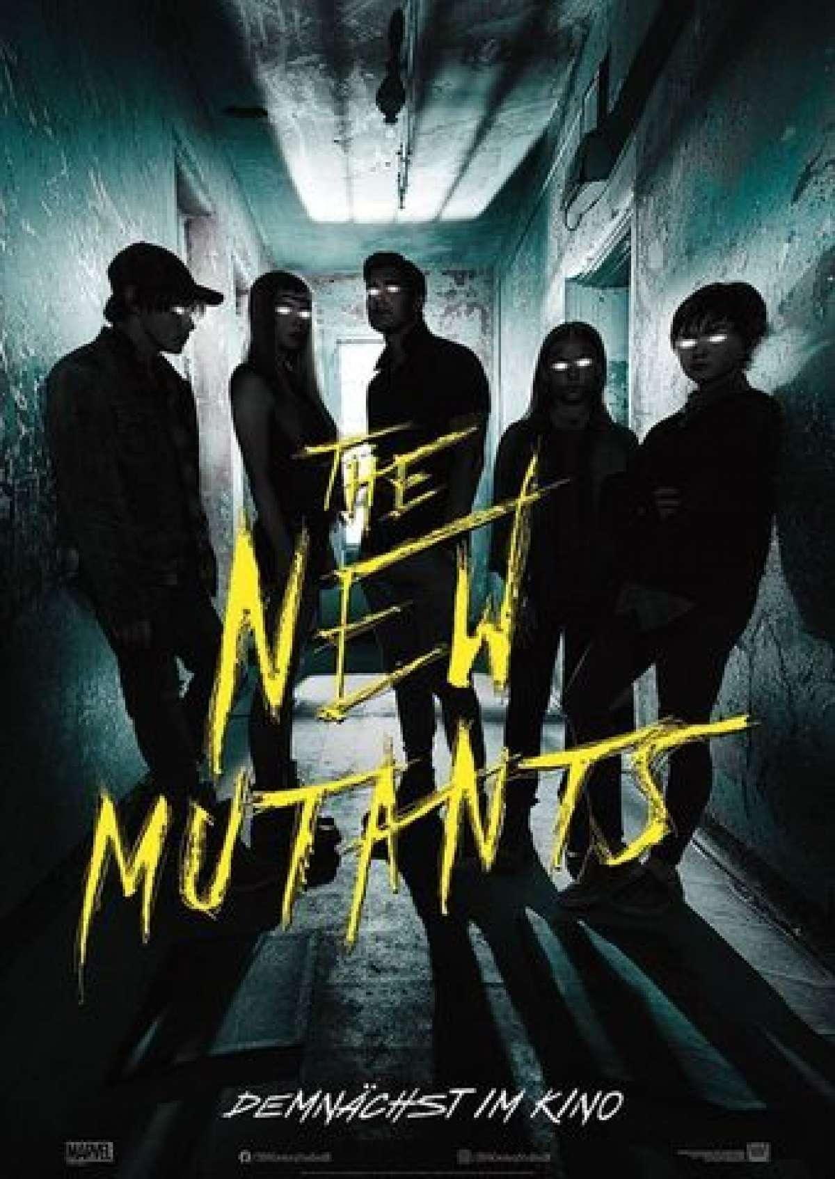 The New Mutants - Cine-Royal  - Fritzlar