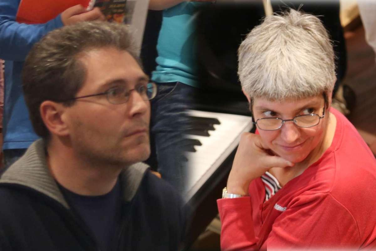 Konzert für 2 Klaviere - Ralf Berger und Rita Knobbe - Ev. Stadtkirche  - Bad Arolsen