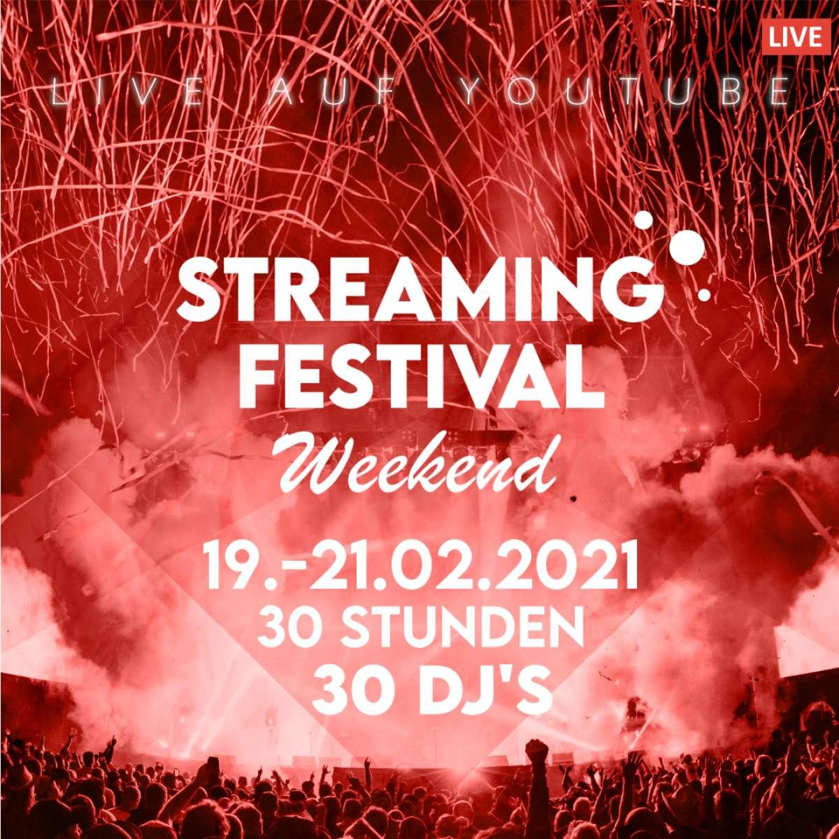 Streaming Festival Weekend - 30 Stunden, 30 DJs