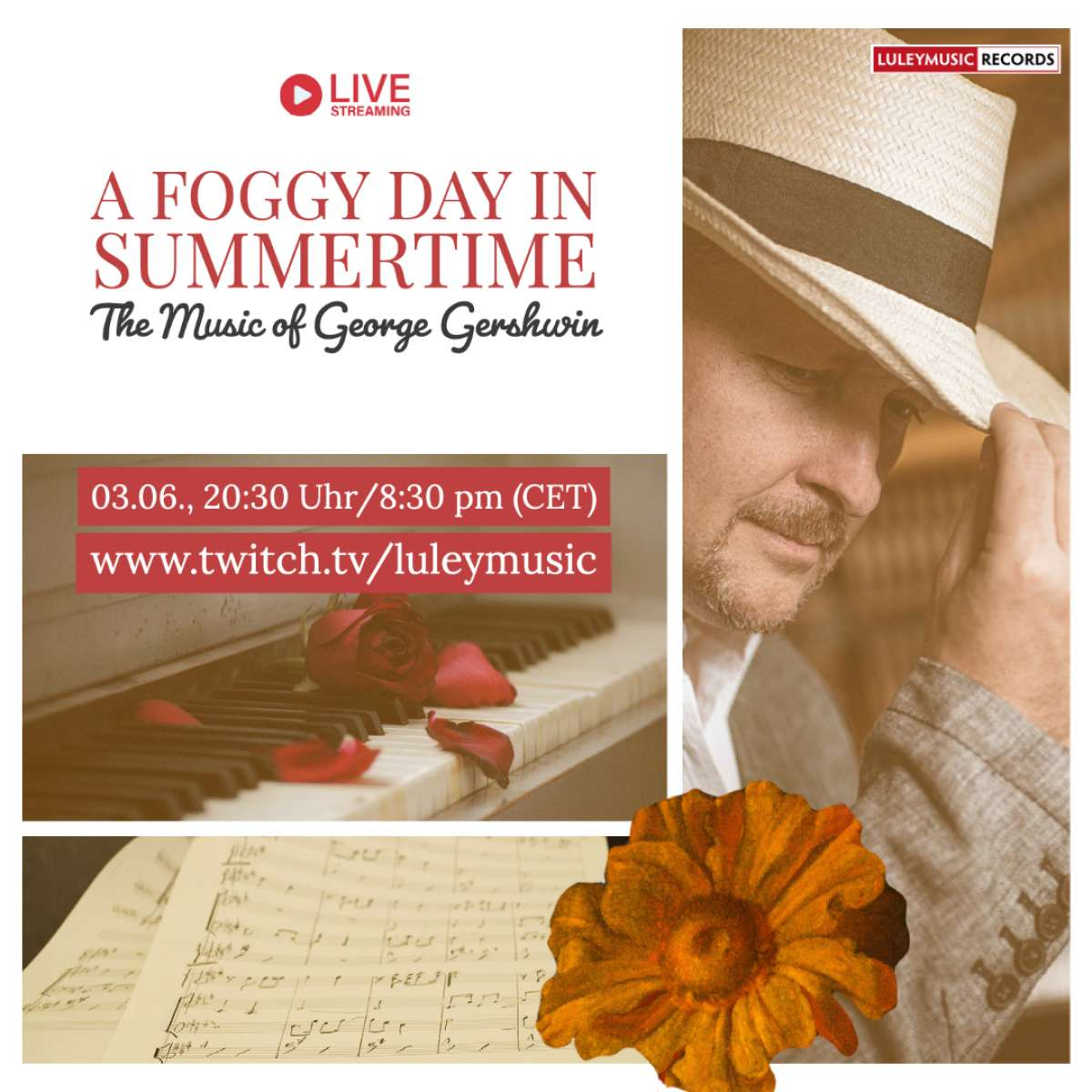 A Foggy Day In Summertime - The Music of George Gershwin