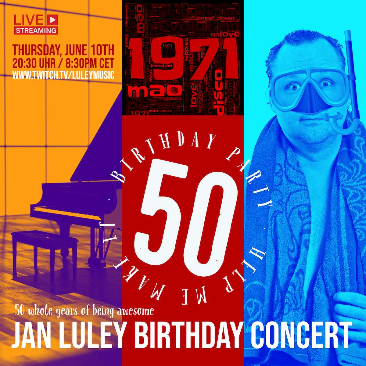 50 whole years of being awesome - the birthday concert