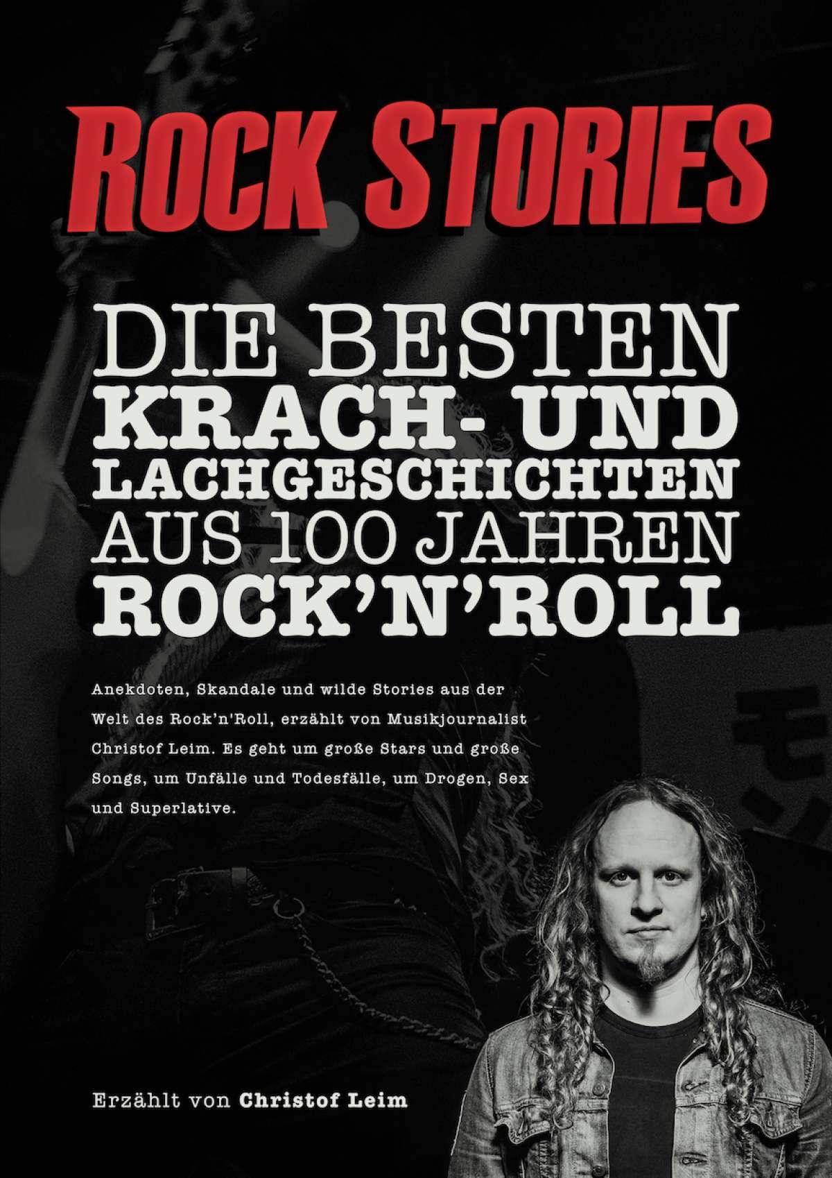 Die besten Krach- und Lachgeschichten aus 100 Jahren Rock'n'Roll