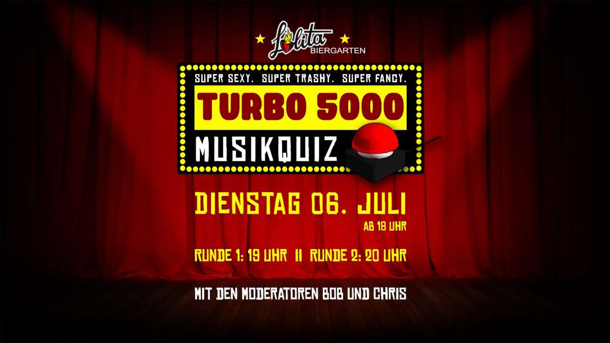 Turbo 5000 das Musikquiz