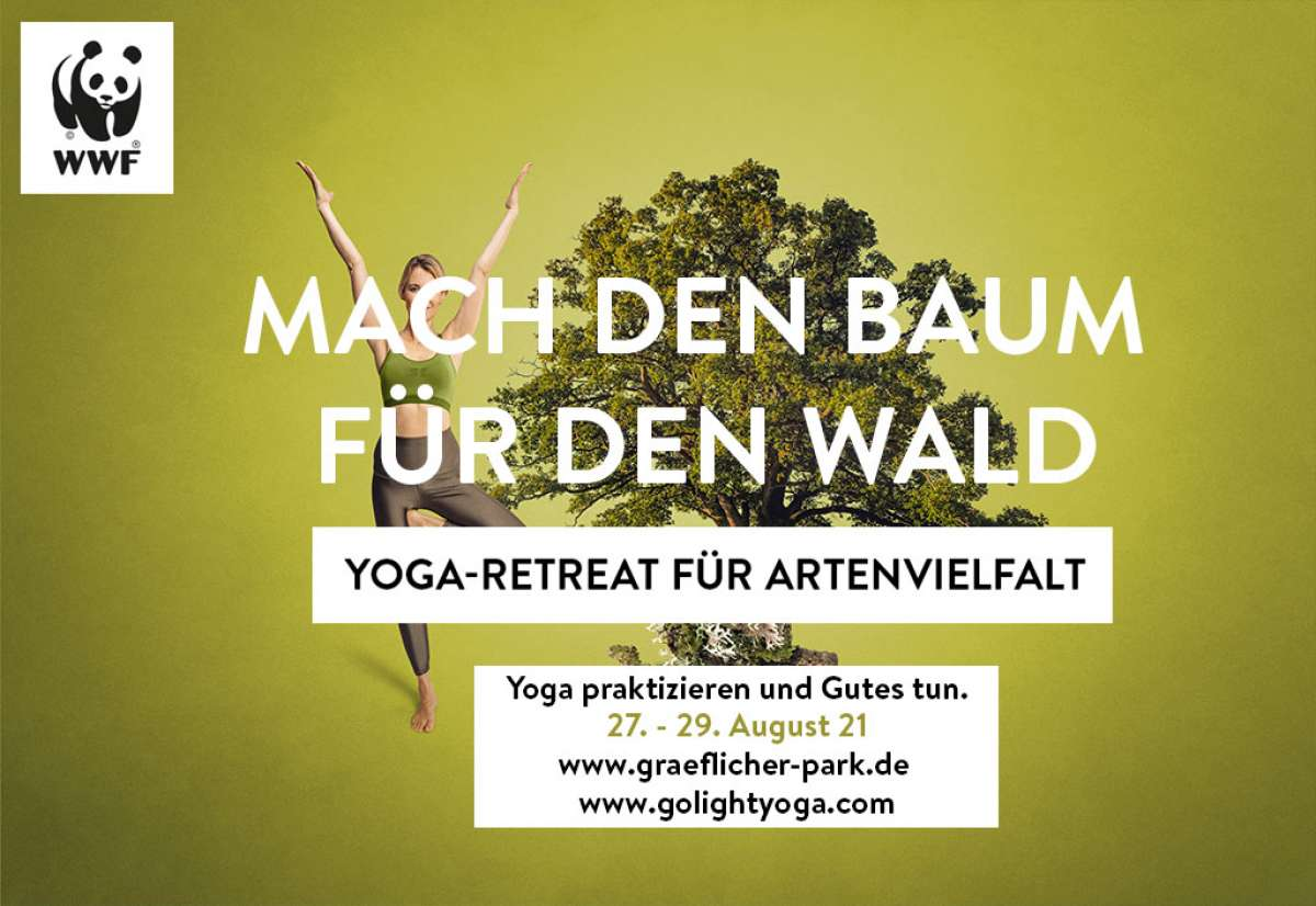 WWF Yoga-Retreat für Artenvielfalt