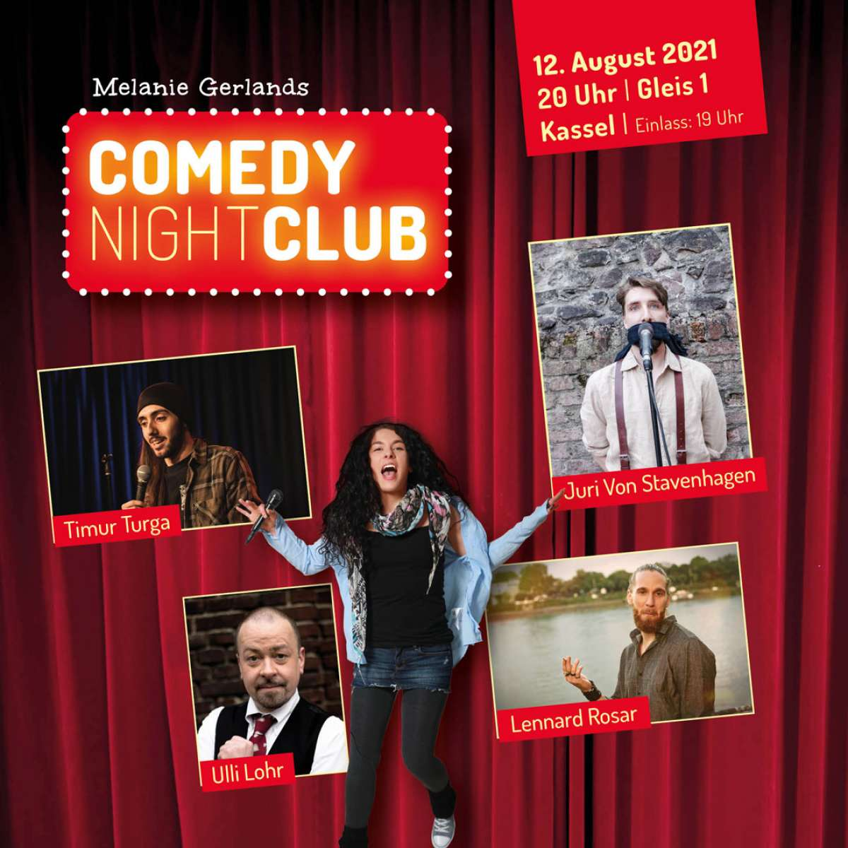 Melanie Gerlands Comedy Nightclub