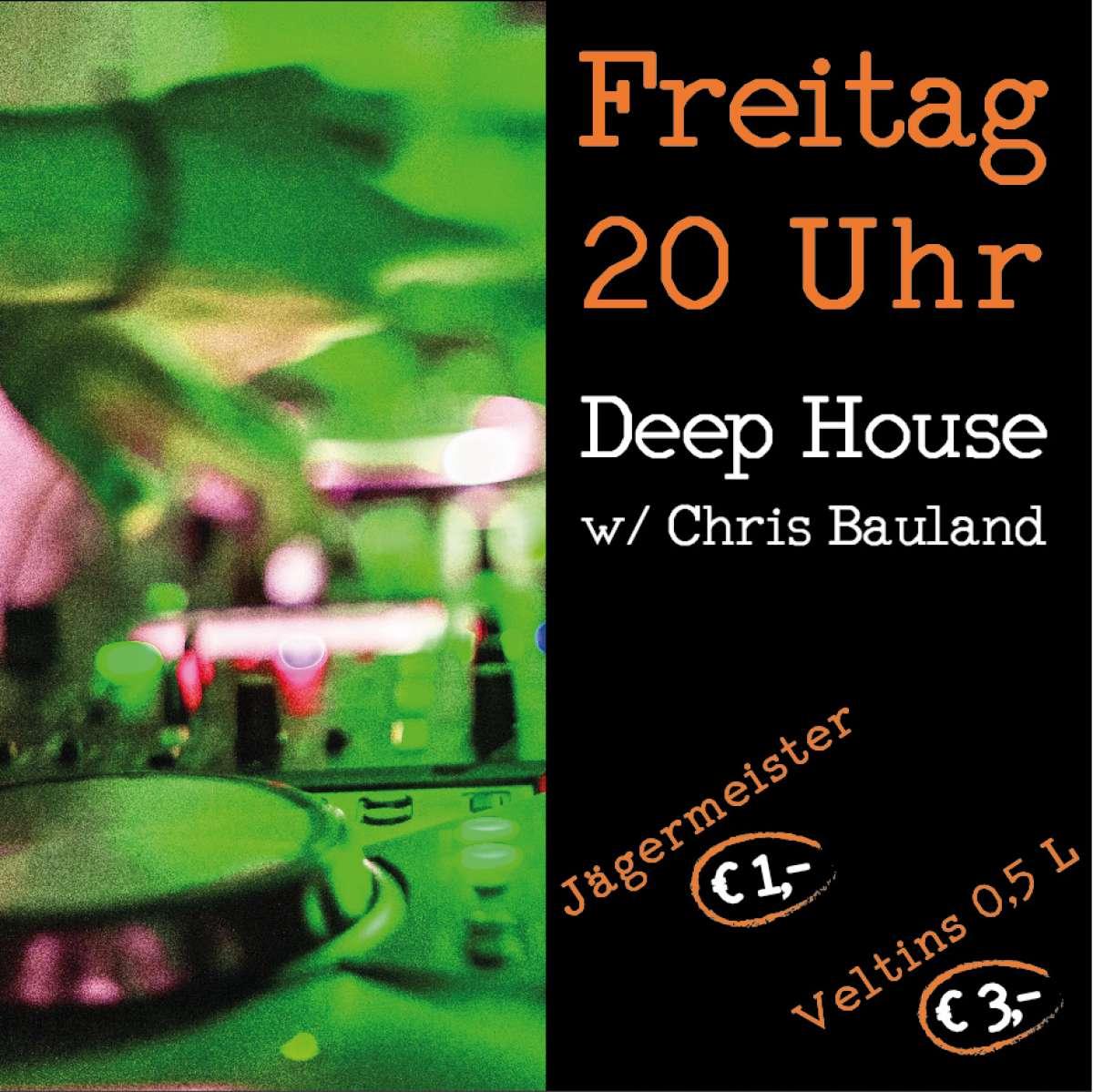 Deep House Set (Sit in)