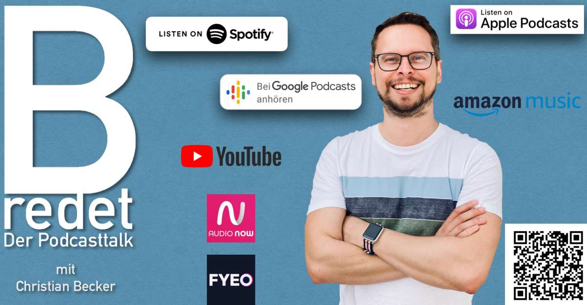 B redet - Der Podcasttalk / mit Epithetikerin Sofia Koskeridou