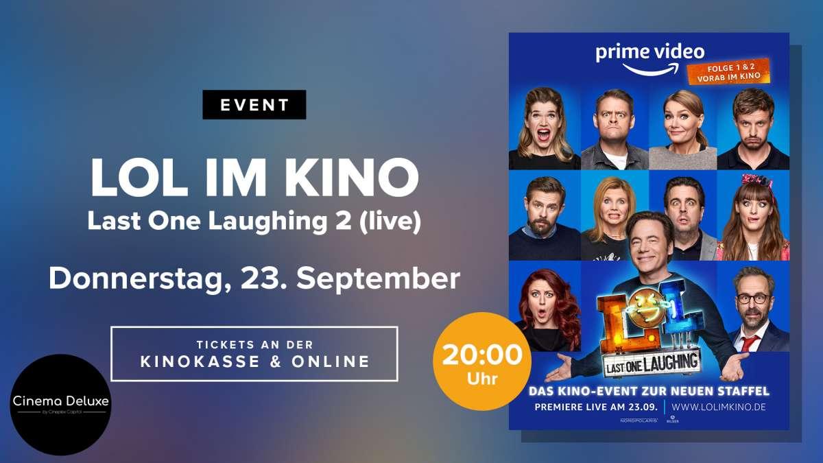 Kinoevent: LOL 2 Last One Laughing 2 (live)