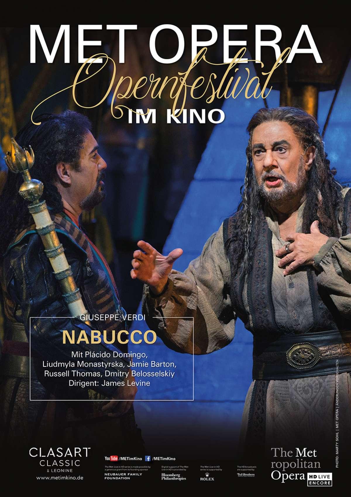 Met Opera: Nabucco (Verdi) (2017)