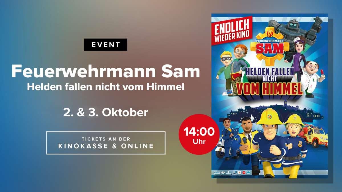 Kinoevent: Feuerwehrmann Sam - Helden fallen nicht vom Himmel