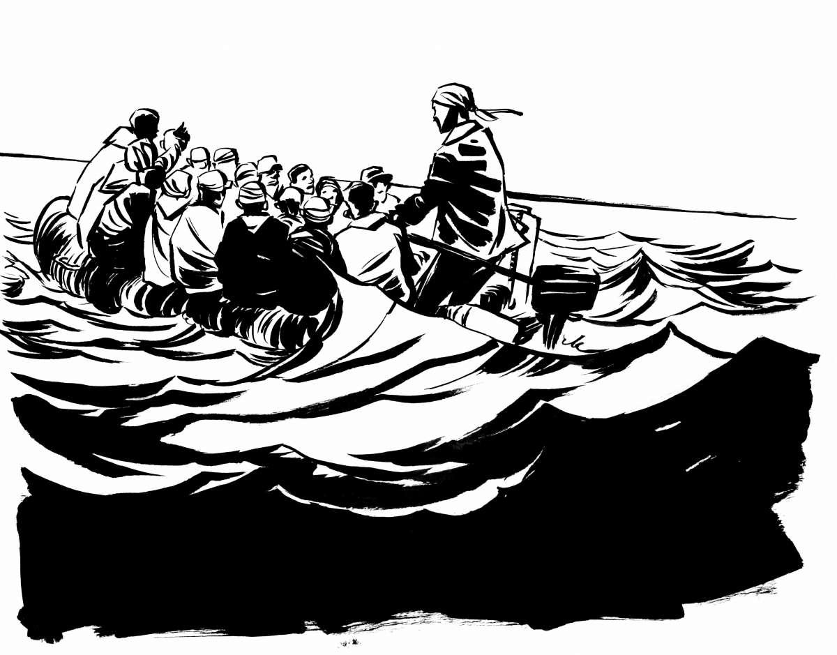 Lesung Graphic Novel: Der Traum von Olympia