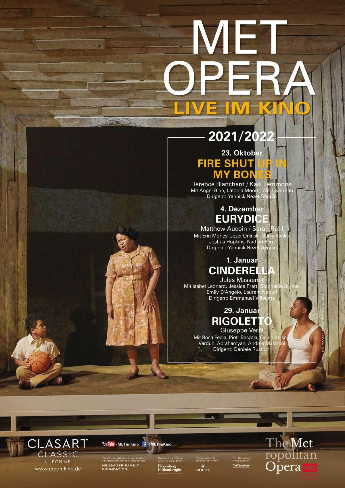 Met Opera: Fire Shut Up In My Bones (Terence Blanchard)
