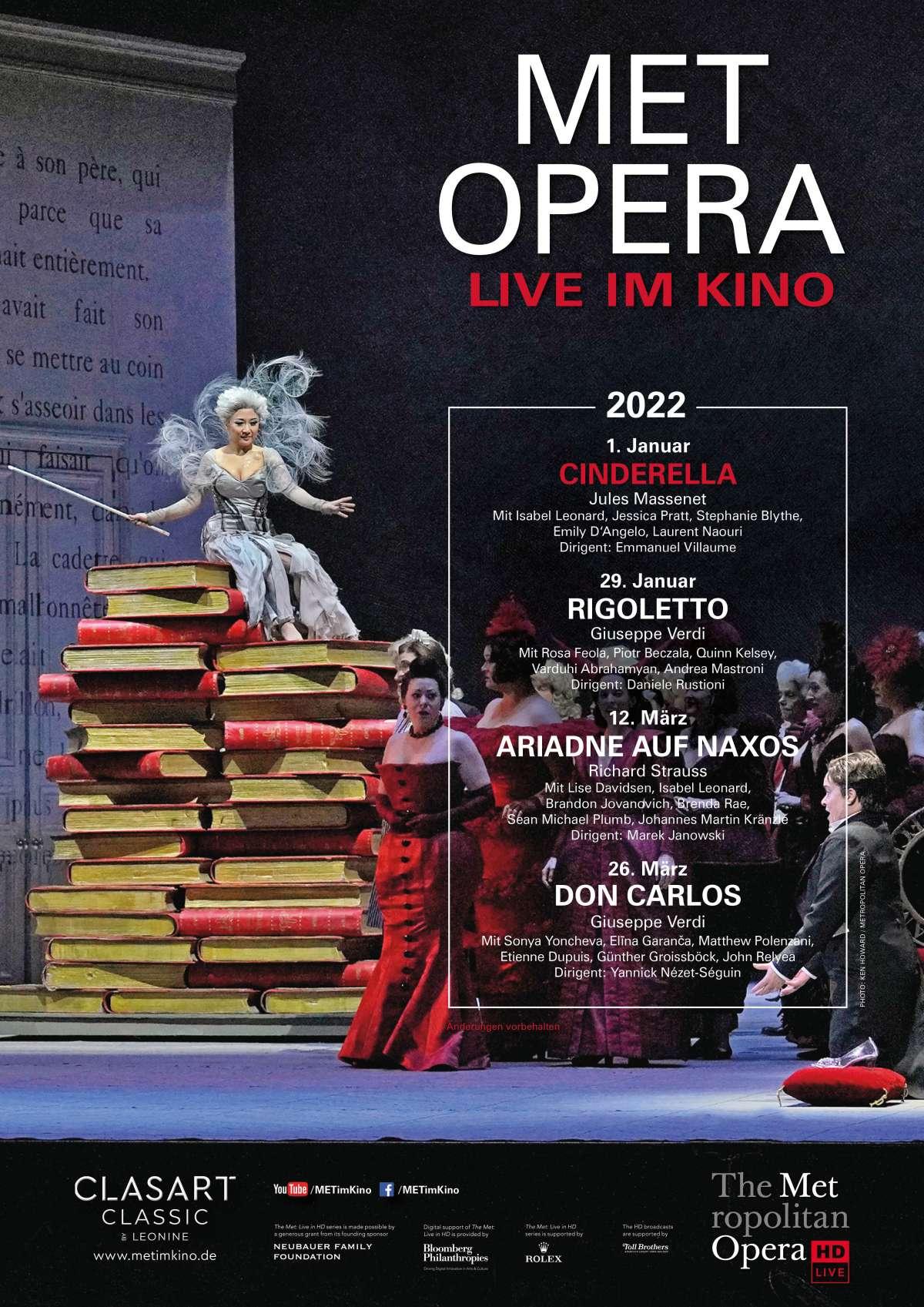 Met Opera: Cinderella (Jules Massenet)