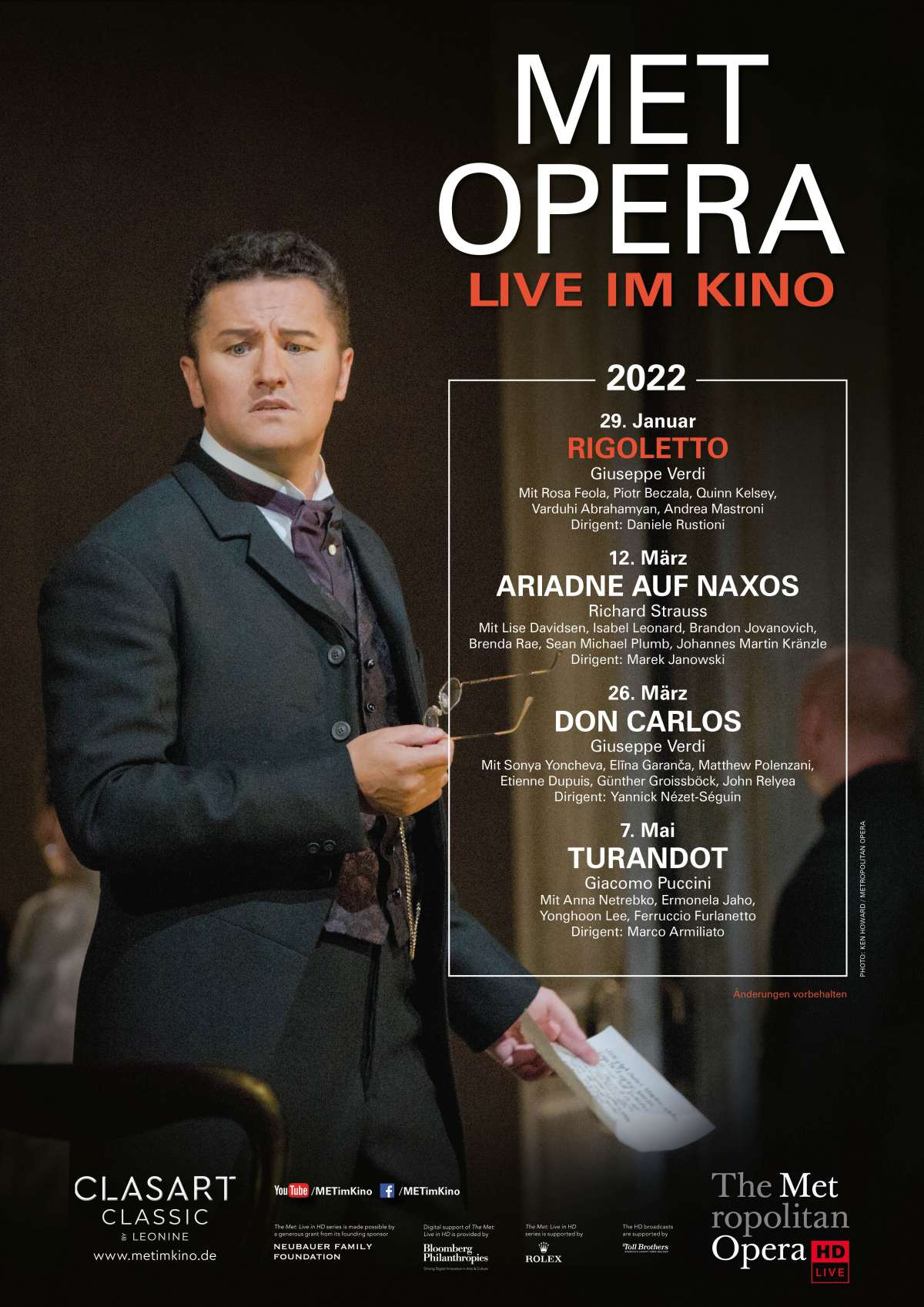 Met Opera: Rigoletto (Verdi)