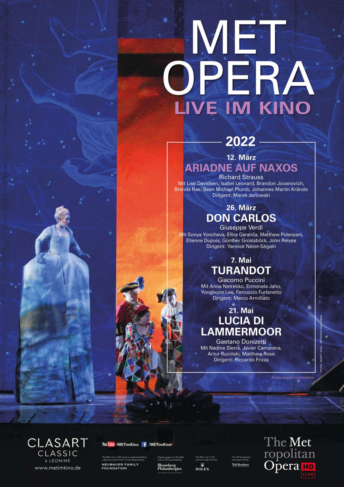 Met Opera: Ariadne Auf Naxos (Richard Strauss)