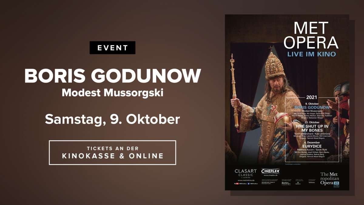 Met Opera: Boris Godunow (Modest Mussorgski)
