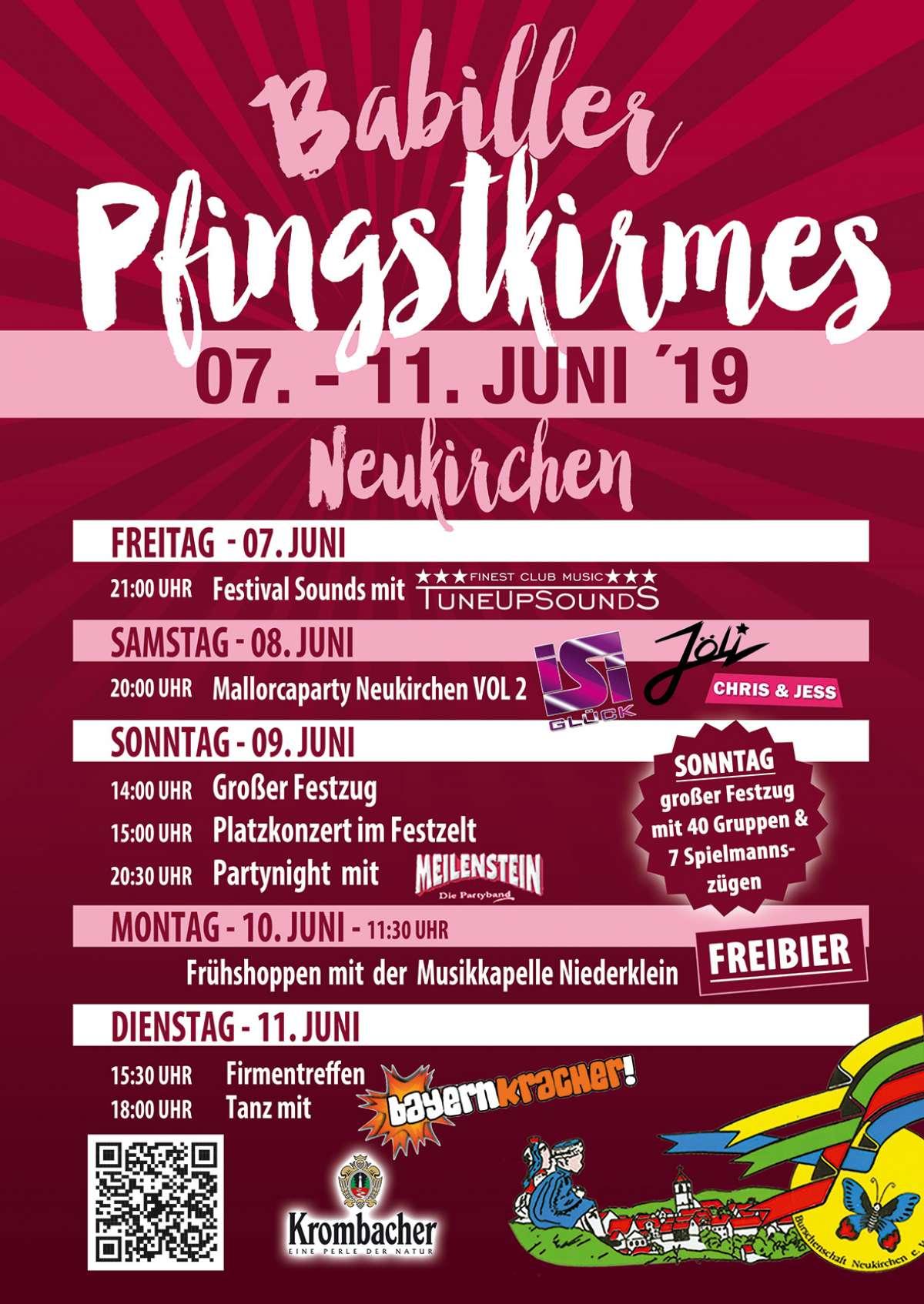 Veranstaltungen & Events am »Montag, 10. Juni 2019« in deiner Nähe...