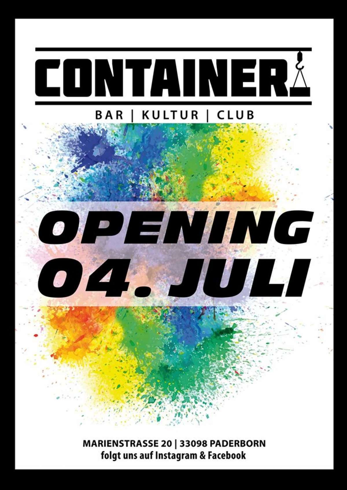 Veranstaltungen & Events am »Freitag, 05. Juli 2019« in deiner Nähe...