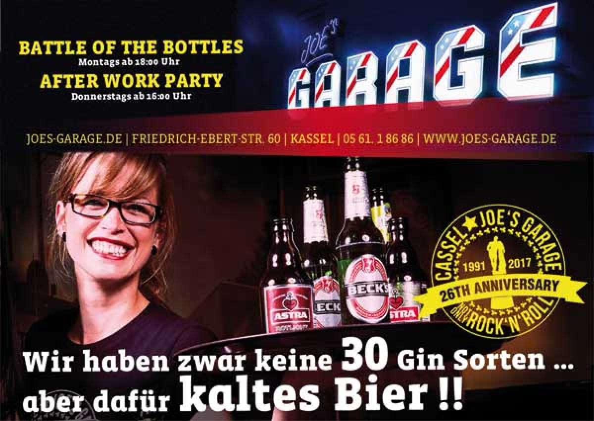 Funk, Rock und Hip-Hop in Kassel: Anchester in Joe's Garage